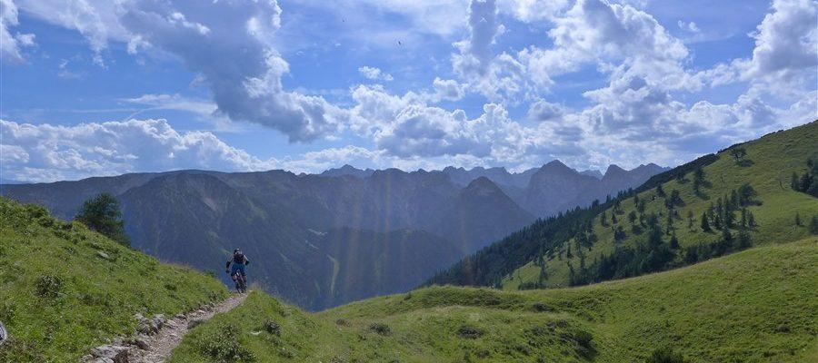 Tourbericht Steinernes Tor/Achensee August 2017