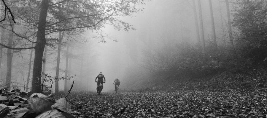 Tourbericht Laubfegen am Hirschenstein Oktober 2017